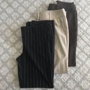 Set of 3 LOFT Pants